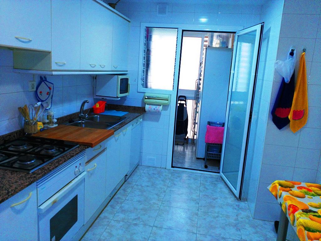 Cocina - Piso en alquiler de temporada en pasaje Merçe Rodoreda, Calella - 285270223