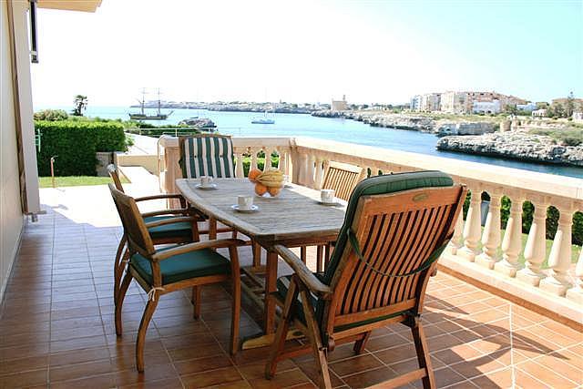 Terraza - Chalet en alquiler de temporada en urbanización Zona Son Oleo, Ciutadella de Menorca - 195692392