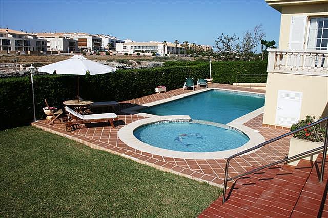 Piscina - Chalet en alquiler de temporada en urbanización Zona Son Oleo, Ciutadella de Menorca - 195692398