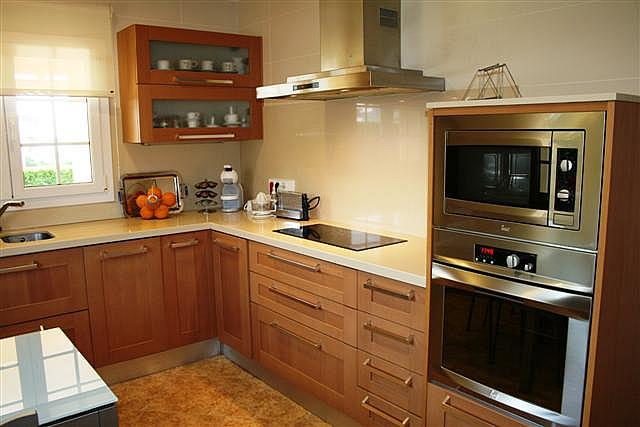 Cocina - Chalet en alquiler de temporada en urbanización Zona Son Oleo, Ciutadella de Menorca - 195692403