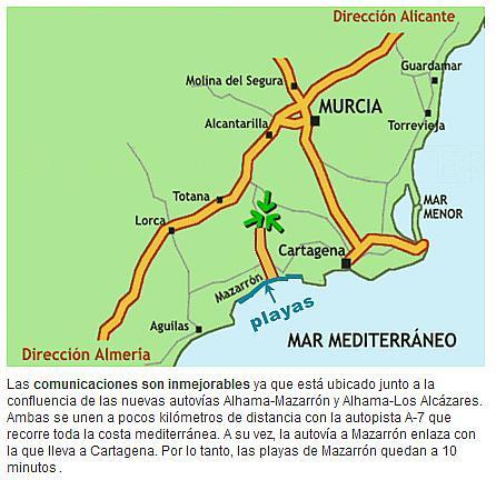 Piso en alquiler en Alhama de Murcia - 271893306