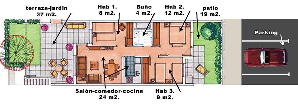 Piso en alquiler en Alhama de Murcia - 158264197