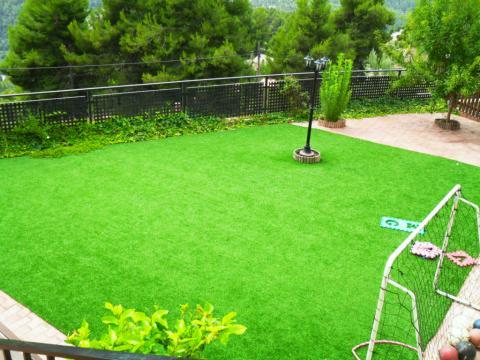 Jardín - Chalet en alquiler opción compra en calle Creu D´Aragall, El Bonrepòs en Corbera de Llobregat - 42271547