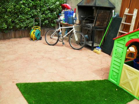 Jardín - Chalet en alquiler opción compra en calle Creu D´Aragall, El Bonrepòs en Corbera de Llobregat - 42271556