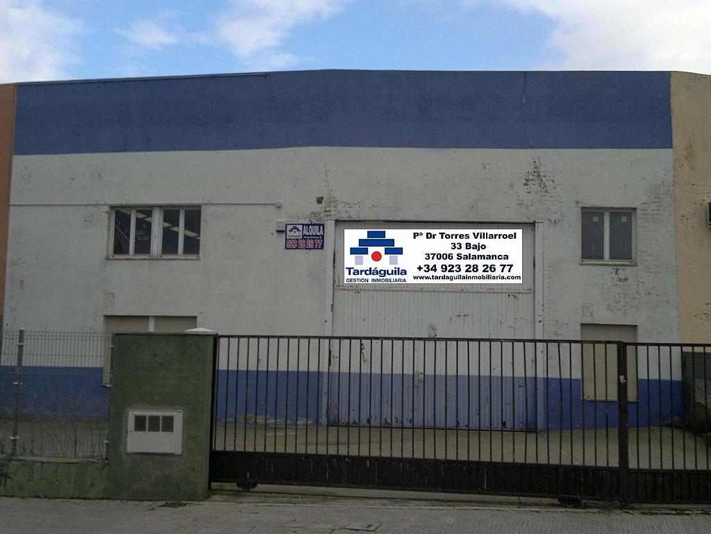 Foto - Nave industrial en alquiler en Salamanca - 303992746