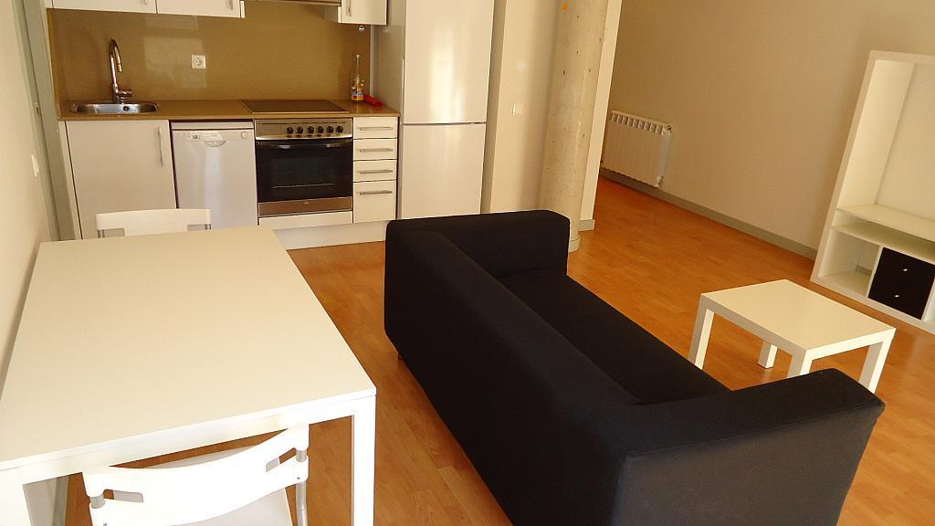 Salón - Apartamento en venta en calle Nou, Universitat en Lleida - 304353449
