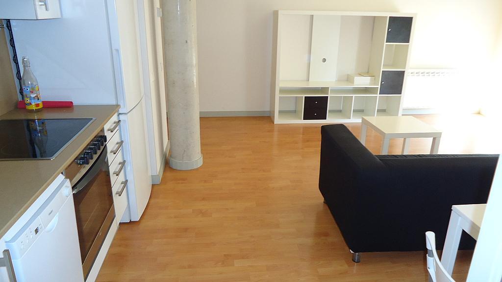 Salón - Apartamento en venta en calle Nou, Universitat en Lleida - 304353450
