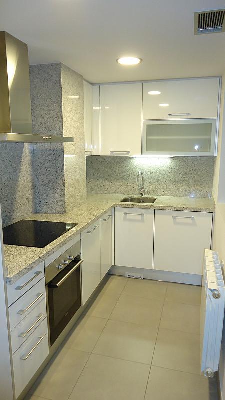 Cocina - Apartamento en alquiler en calle Prat de la Riba, Príncep de Viana - Clot en Lleida - 325290580