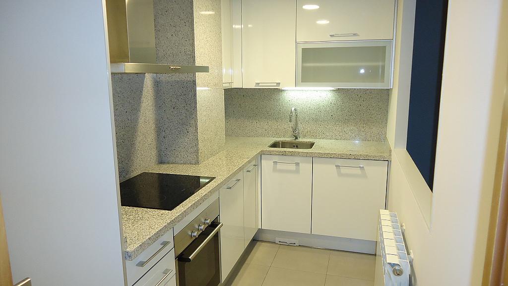 Cocina - Apartamento en alquiler en calle Prat de la Riba, Príncep de Viana - Clot en Lleida - 325290589