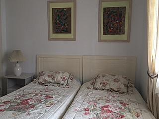 Dormitorio - Casa adosada en alquiler de temporada en urbanización Lunamar, Mijas Costa - 254241694