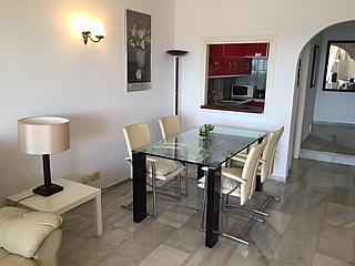 Casa adosada en alquiler de temporada en urbanización Lunamar, Mijas Costa - 254241768
