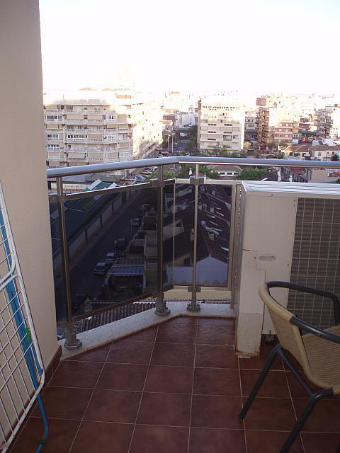 Terraza - Piso en alquiler de temporada en calle Antonio Machado, Fuengirola - 137603646