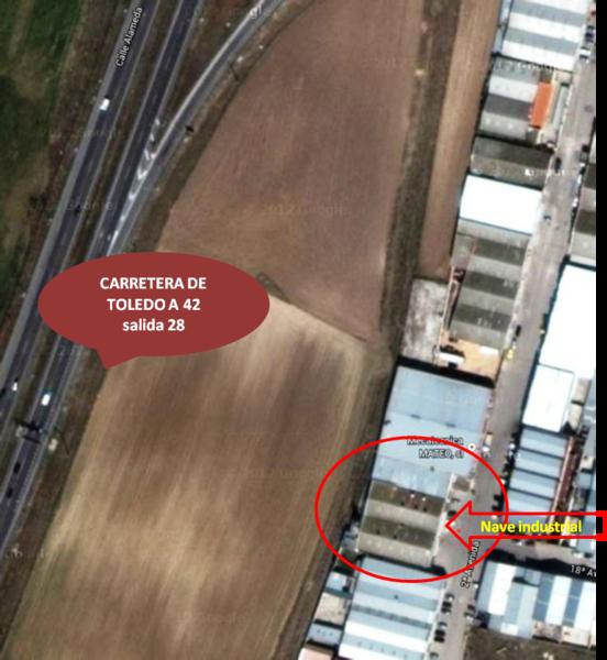 Nave industrial en alquiler opción compra en Torrejón de la Calzada - 123288645