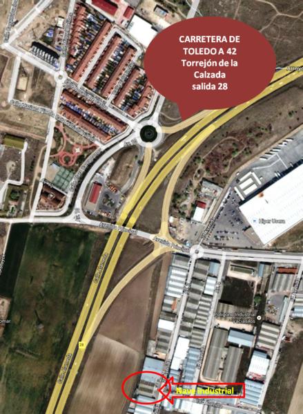 Nave industrial en alquiler opción compra en Torrejón de la Calzada - 123288649