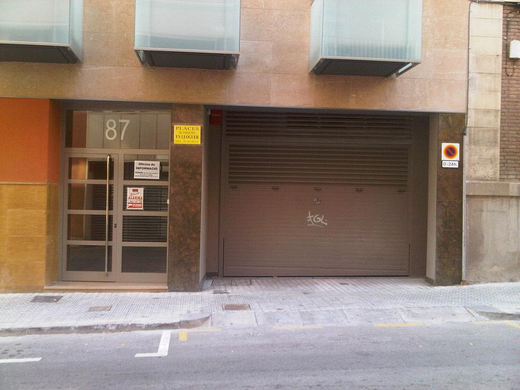 Fachada - Parking en alquiler en calle Sant Lluis, Vila de Gràcia en Barcelona - 127531917