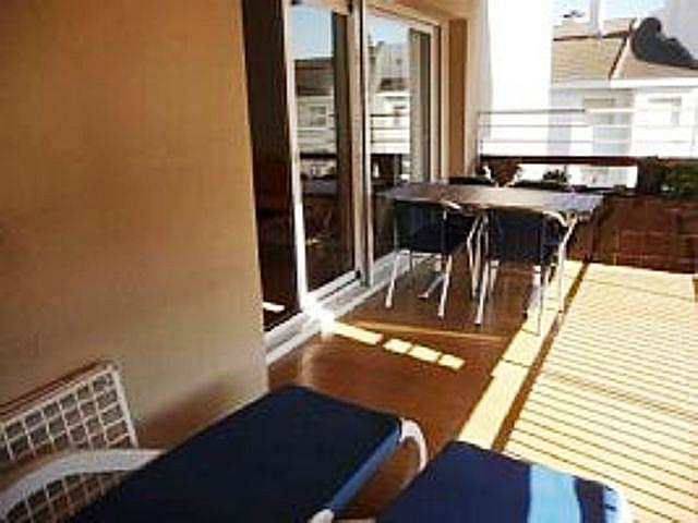 Terraza - Piso en alquiler en calle Alexandre de Cabanyes, Ribes roges en Vilanova i La Geltrú - 322059818