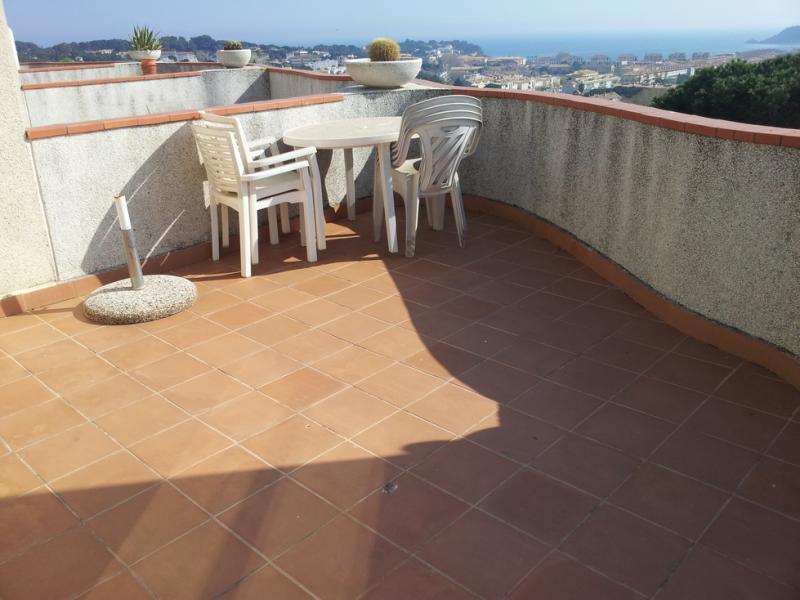 Terraza - Piso en alquiler en urbanización Los Girasoles, Platja d´aro - 116032678