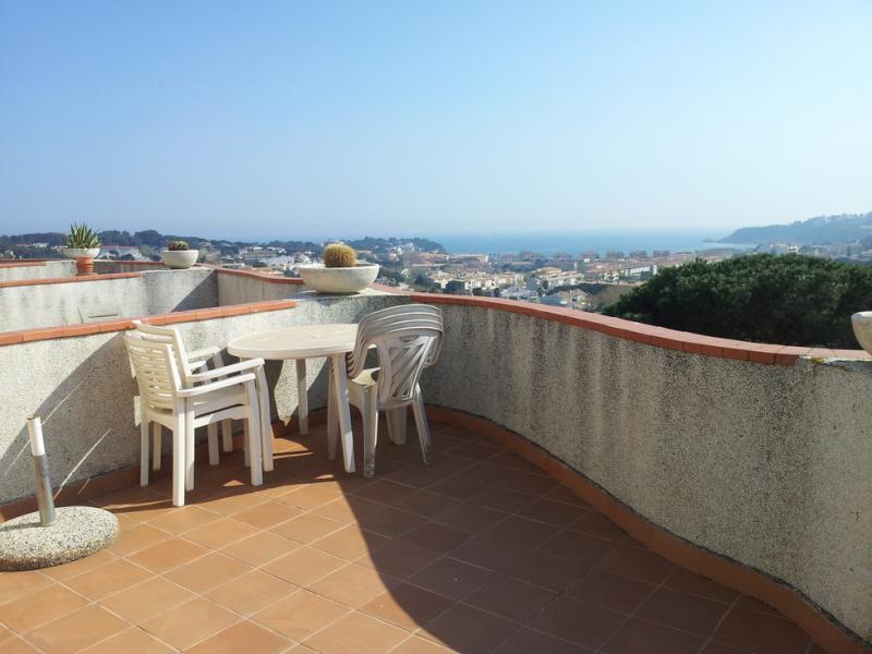 Terraza - Piso en alquiler en urbanización Los Girasoles, Platja d´aro - 116032681