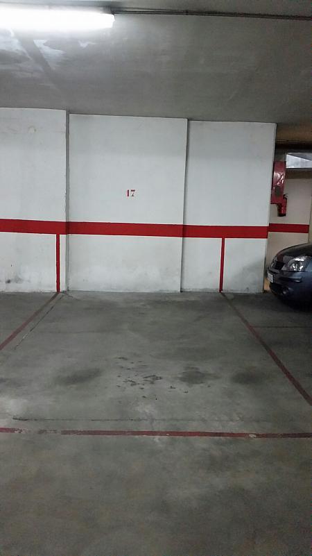 Garaje en alquiler en calle Alonso de Ojeda, Salesas en Salamanca - 245908741