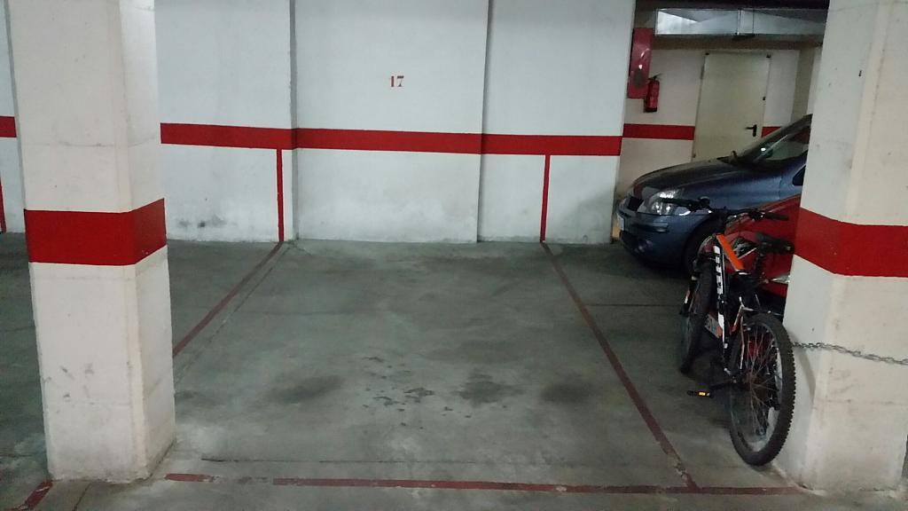 Garaje en alquiler en calle Alonso de Ojeda, Salesas en Salamanca - 245908743