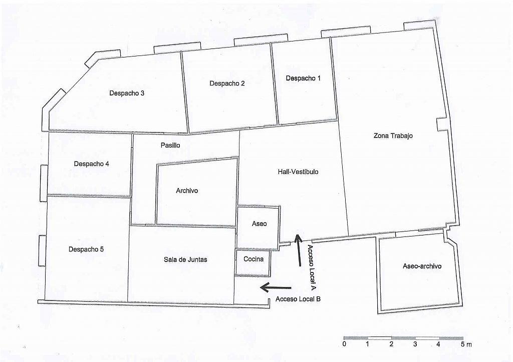 Oficina en alquiler en calle Zamora, Salamanca - 264452161