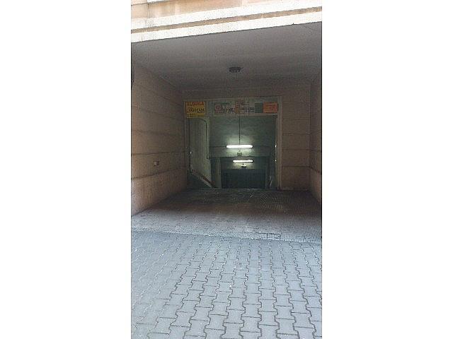 Foto 2 - Garaje en alquiler en calle Los Soldados, La Puebla-Centro en Palencia - 240552525