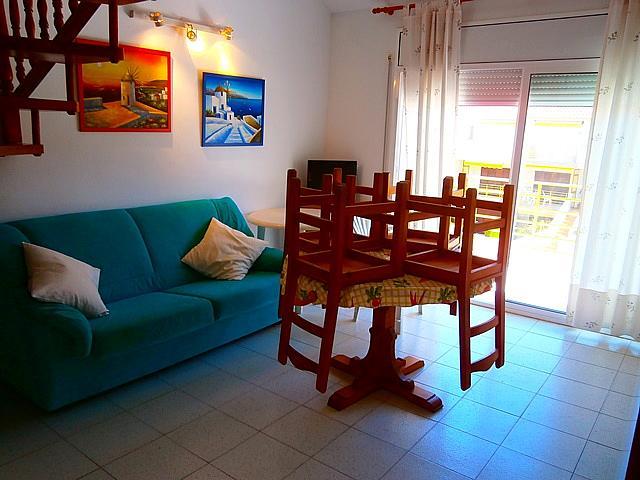 Comedor - Apartamento en alquiler de temporada en calle Neptu, Tarraco en Cambrils - 260969699