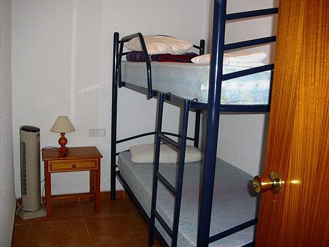 Dormitorio - Apartamento en alquiler de temporada en paseo Maritimo, Cambrils mediterrani en Cambrils - 262508069