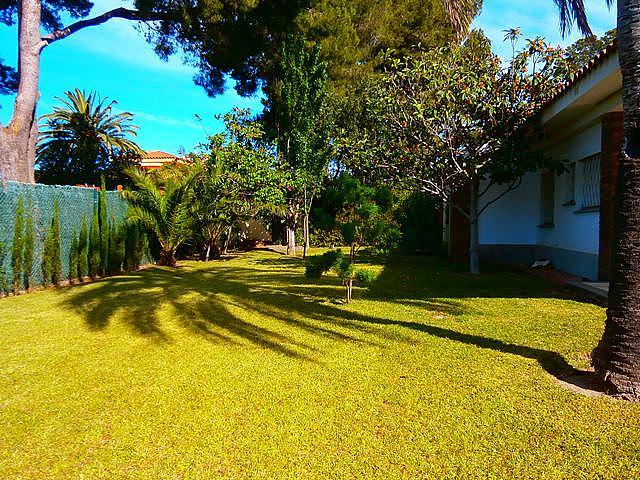 Jardín - Chalet en alquiler de temporada en calle Pluto, Tarraco en Cambrils - 262917675