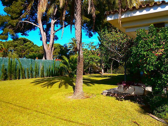 Jardín - Chalet en alquiler de temporada en calle Pluto, Tarraco en Cambrils - 262917676