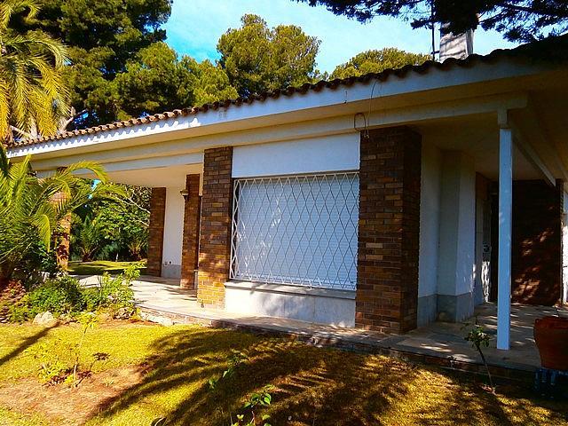 Fachada - Chalet en alquiler de temporada en calle Pluto, Tarraco en Cambrils - 262917679