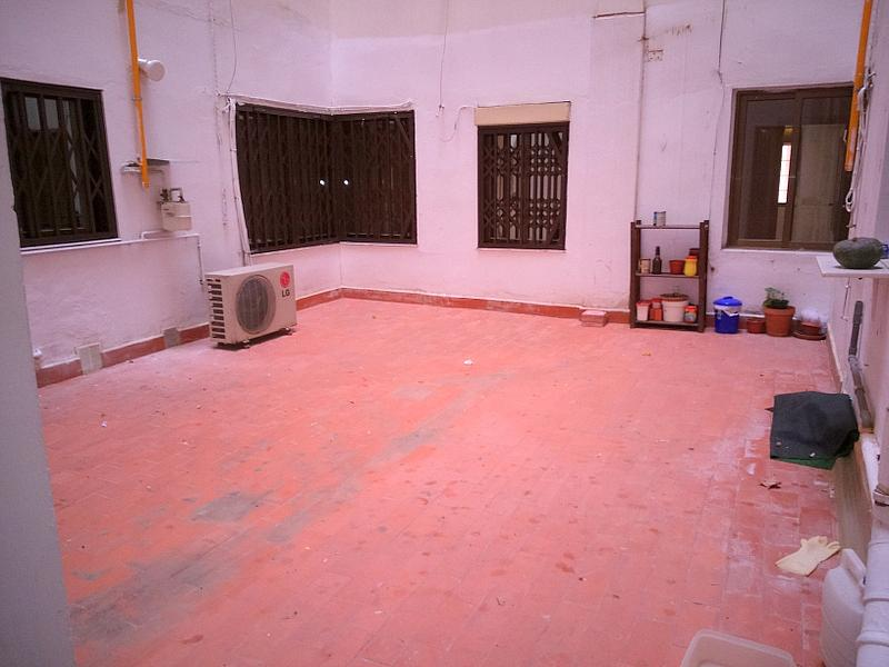 Terraza - Piso en alquiler en calle Albacete, Arrancapins en Valencia - 329105464