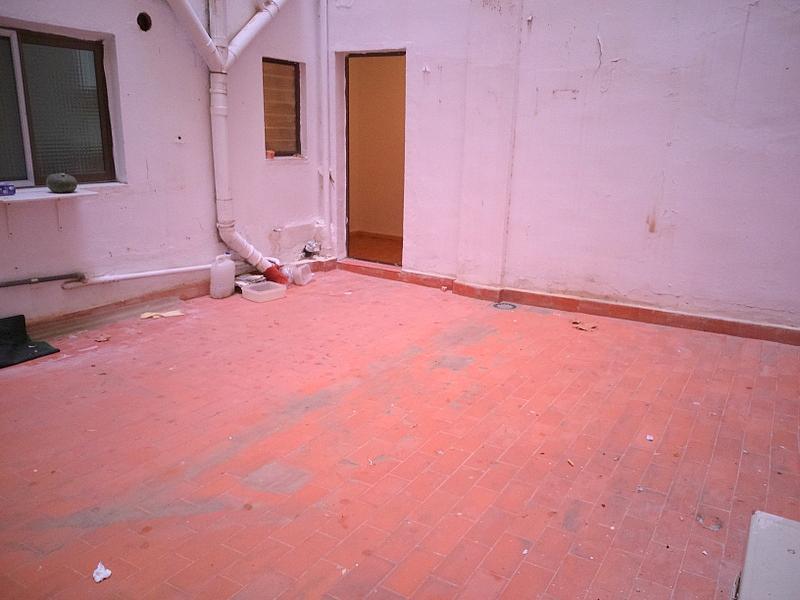 Terraza - Piso en alquiler en calle Albacete, Arrancapins en Valencia - 329105468