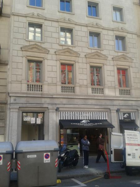 Fachada - Oficina en alquiler en ronda Universitat, Eixample dreta en Barcelona - 60690647