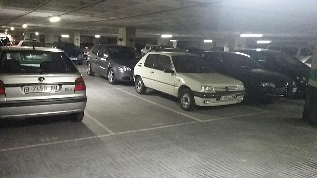 Detalles - Parking en alquiler en paseo Vall Hebron, La Vall d´Hebron en Barcelona - 186910746