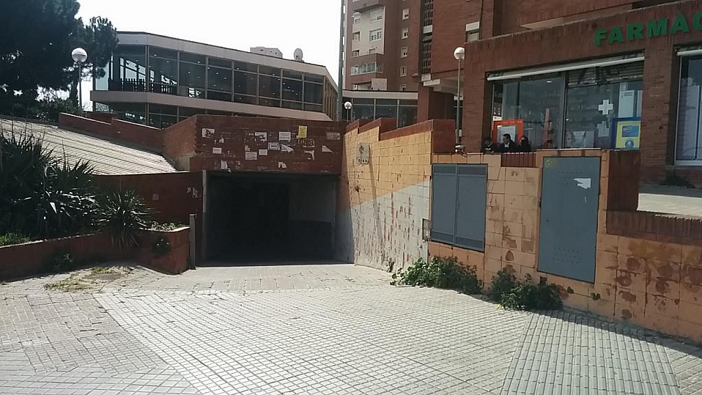 Fachada - Parking en alquiler en paseo Vall Hebron, La Vall d´Hebron en Barcelona - 186910749