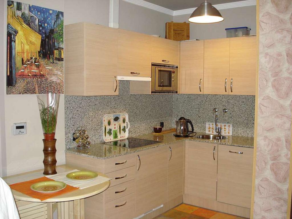 Cocina - Apartamento en alquiler en Barakaldo - 349795975