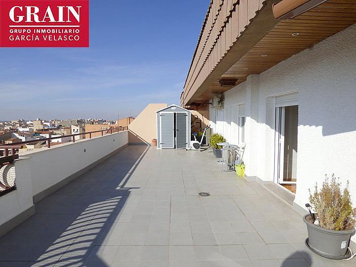 Ático en alquiler en plaza Gabriel Lodares, Centro en Albacete - 352193440
