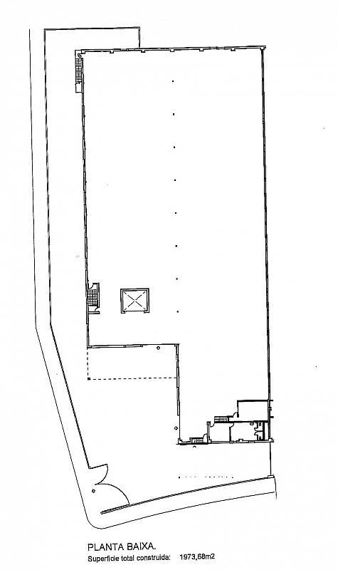 Plano - Nave industrial en alquiler en calle Montilla, Les Planes en Sant Joan Despí - 310552410