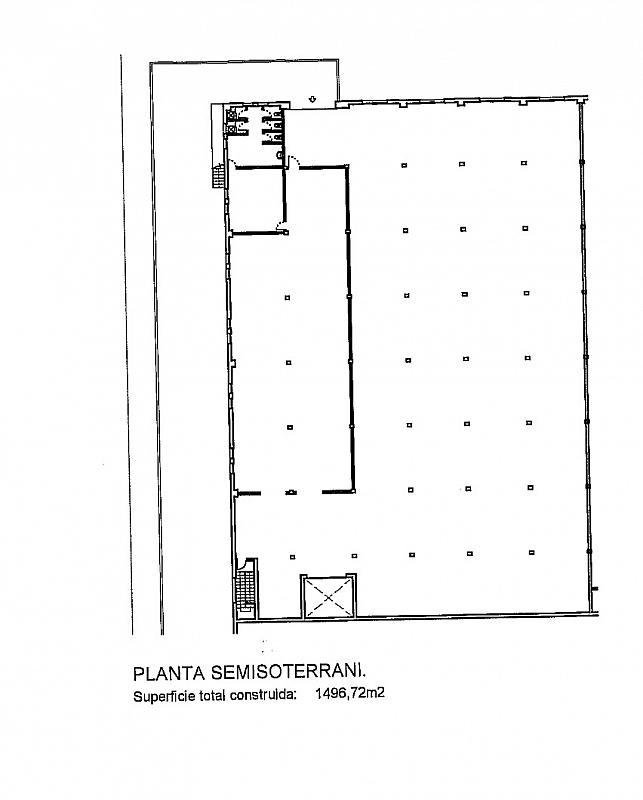 Plano - Nave industrial en alquiler en calle Montilla, Les Planes en Sant Joan Despí - 310552416