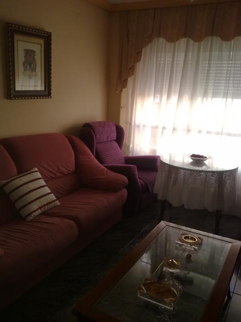 Salón - Apartamento en venta en calle Badajoz, San Pablo en Albacete - 43551155
