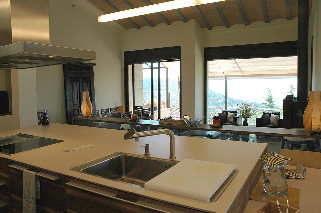 Cocina - Casa en alquiler en Cabrils - 124125734