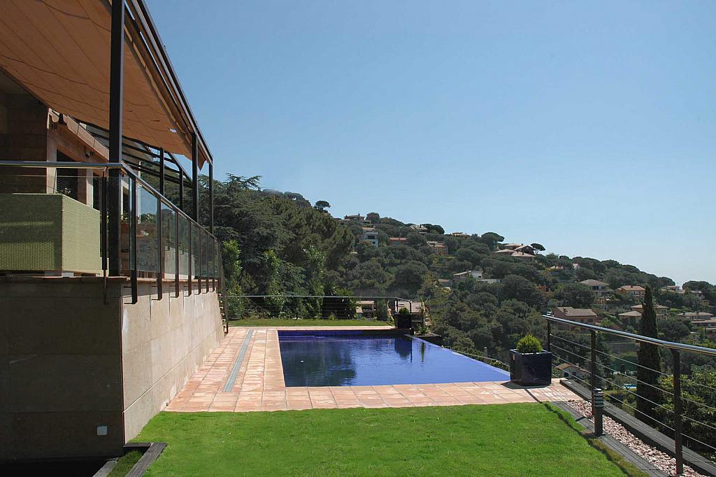 Jardín - Casa en alquiler en Cabrils - 124125740