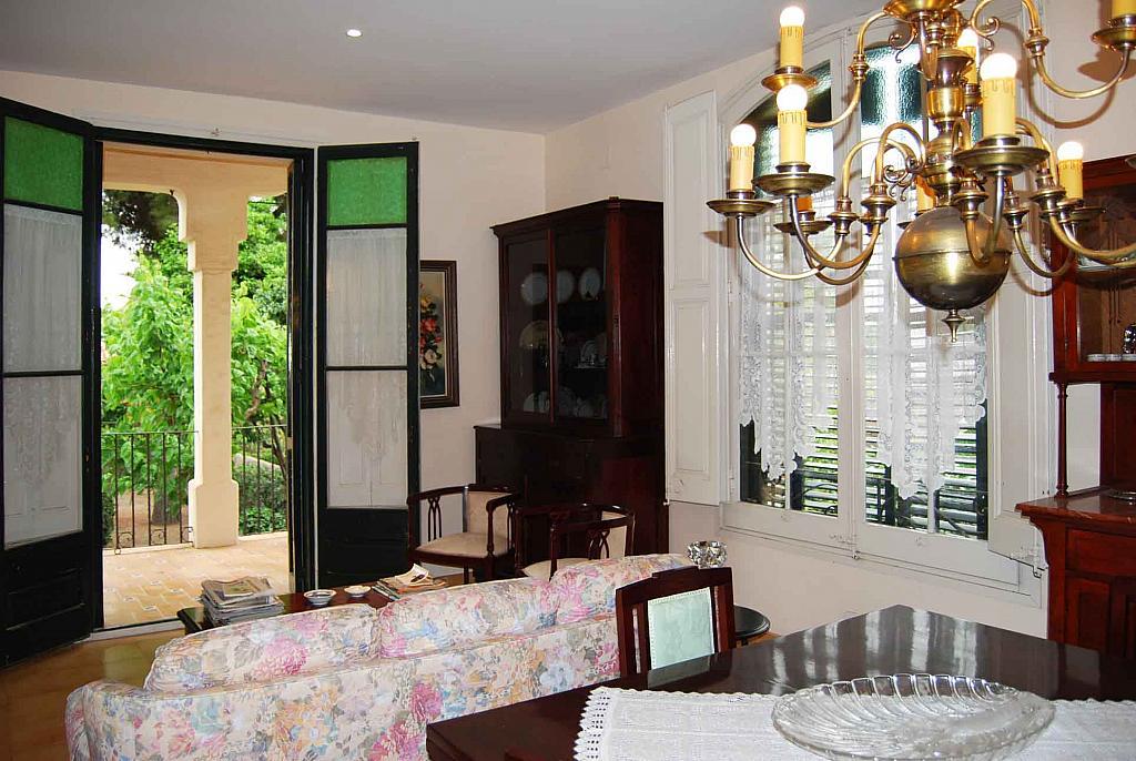 Salón - Casa en alquiler en Tiana - 142631382