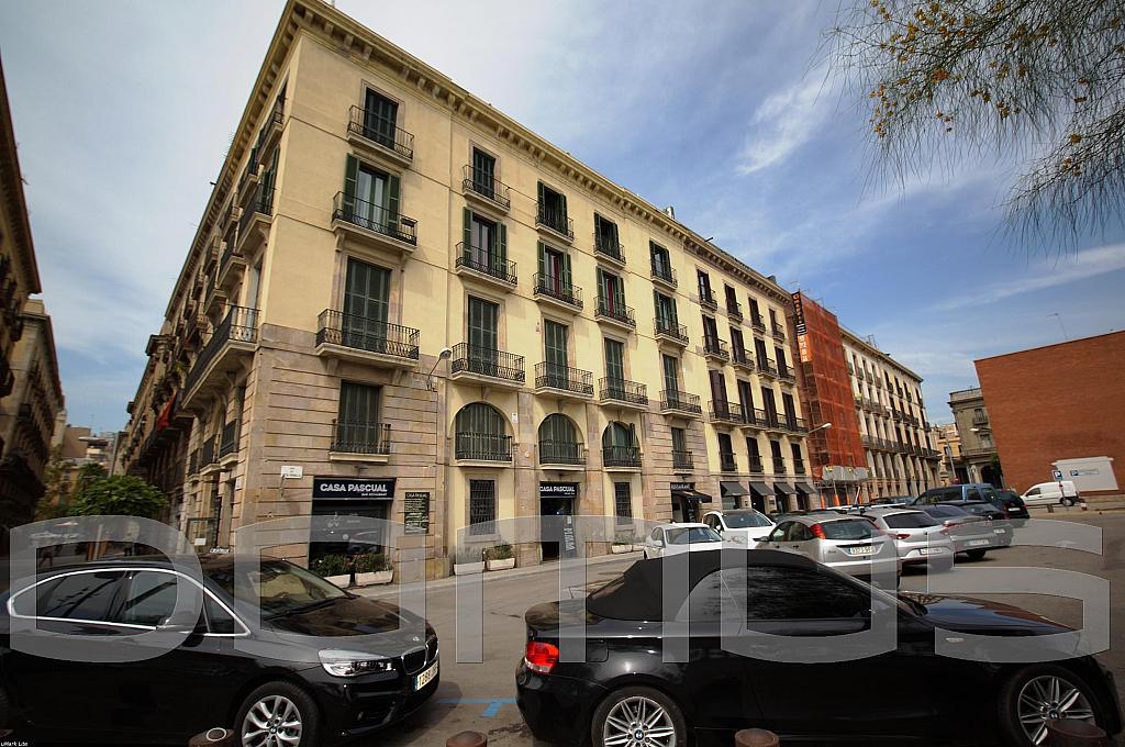 Fachada - Piso en alquiler en Born-Santa Caterina-Sant Pere-La Ribera en Barcelona - 327367414