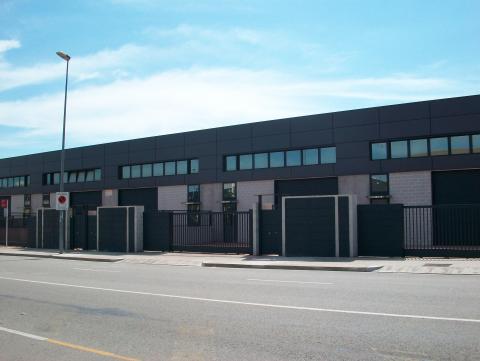 Fachada - Nave industrial en alquiler en calle Rec del Molinar, Montmeló - 28275940