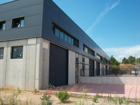 Fachada - Nave industrial en alquiler en calle Rec del Molinar, Montmeló - 28275945