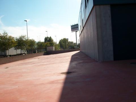 Patio - Nave industrial en alquiler en calle Rec del Molinar, Montmeló - 28276021
