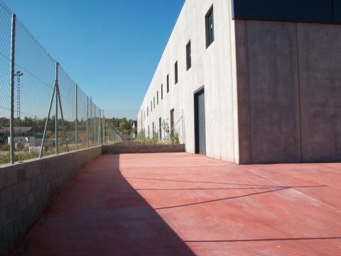 Patio - Nave industrial en alquiler en calle Rec del Molinar, Montmeló - 28276037