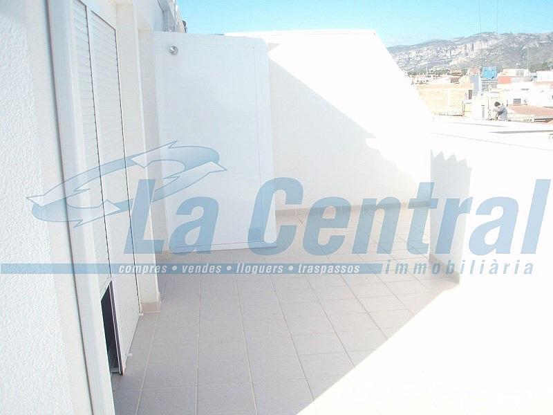 Terraza 3 - Piso en alquiler en calle Sant Carles Núm Àtic Altura Atico, Sénia, la - 279485284
